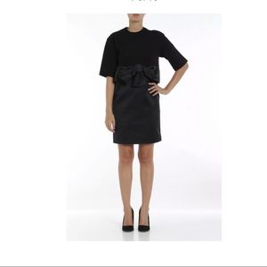 NEW No 21 Black Bow Dress SZ 46 Black